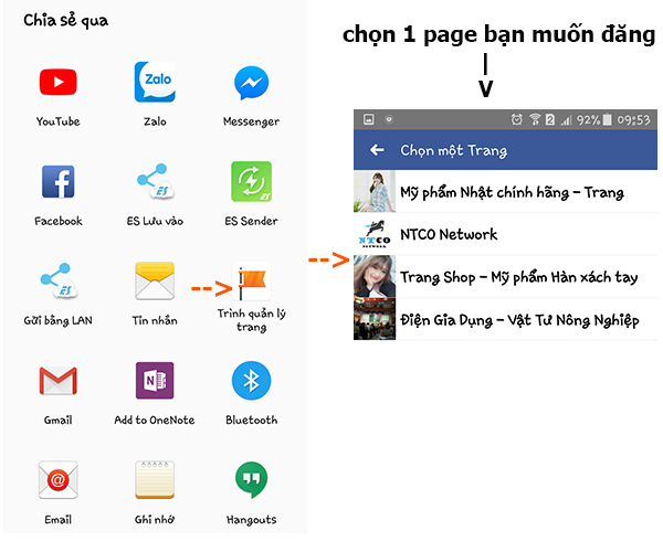 dang anh video va anh tren fanpage cung luc 7