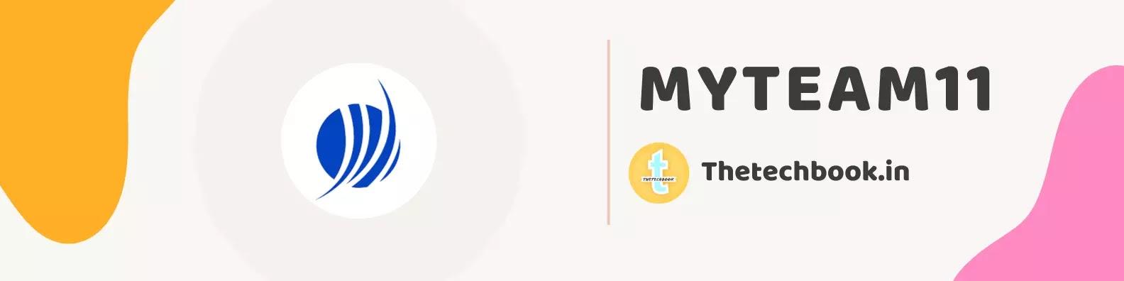 MyTeam11 Fantasy App(2021)