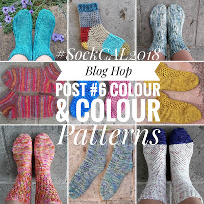 Colour and Colour Patterns in Crocheted Socks