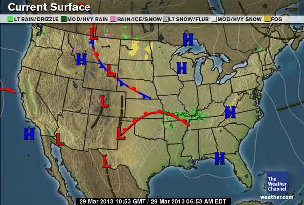 Daily Weather Newsletter: 2013-03-17