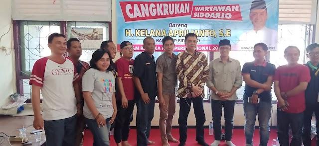 Mas Kelana Kunjungi Balai Wartawan Sidoarjo, dalam Rangka HPN 2020