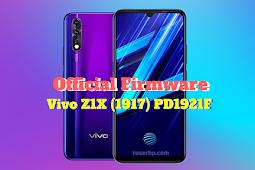 Firmware Vivo Z1X PD1921F
