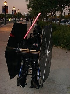 Wheel Chair Tie Fighter