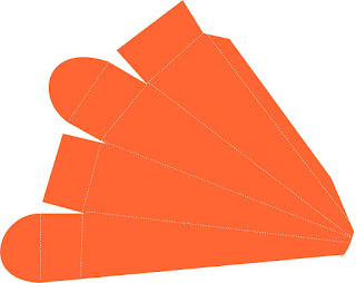 Cajas con forma de Zanahoria para Descargar Gratis.