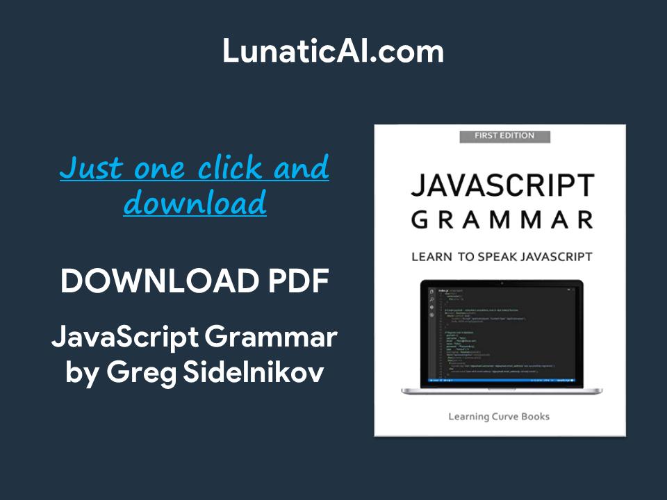 javascript grammar pdf free download