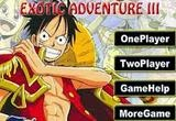 لعبة مغامرات ون بيس الغريبة 3 One Piece Exotic Adventure