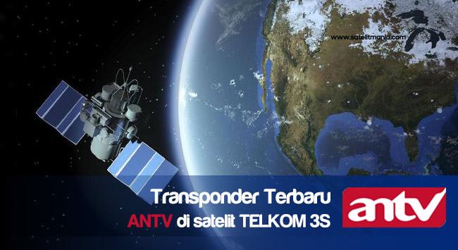 Frekuensi ANTV Terbaru 2017 Di Satelit Telkom 3S
