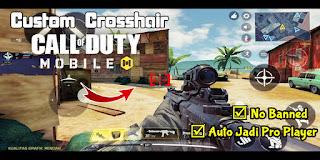 Cara Mengganti Crosshair (Custom Crosshair) Di Game Call of Duty Mobile Garena