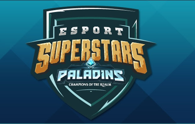 Ven a mirar streaming  en ESPORT SUPERSTARS en PALADINS, y recibe recompensas en TWITCH