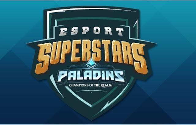 Ven a mirar streaming  en ESPORT SUPERSTARS en PALADINS, y recibe recompensas en TWITCH