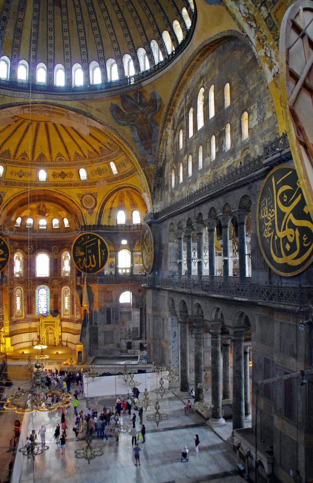 Interior Hagia Sophia Istanbul