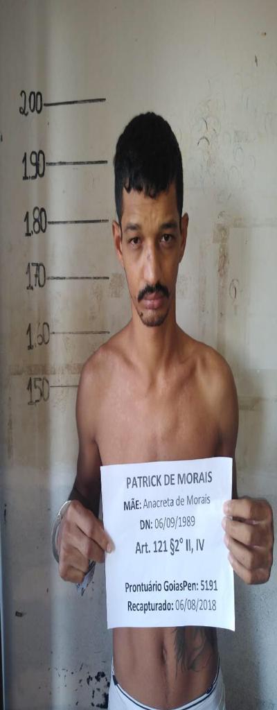 6 - Fuga em massa agora no Presídio de Cristalina. 19 presos. 61 9230-6834: LISTA DE FORAGIDOS