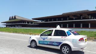 Green airport Blimbingsari Banyuwangi.