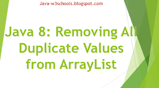 Removing All Duplicate Values from ArrayList including Java 8 Streams