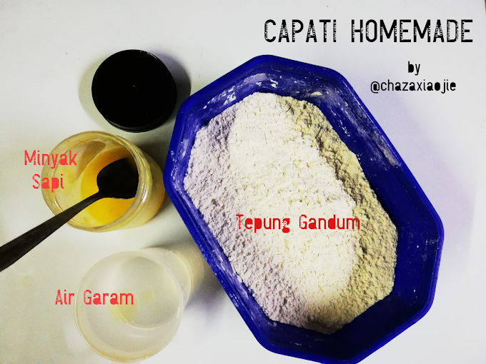 Resepi Capati Homemade by Cx
