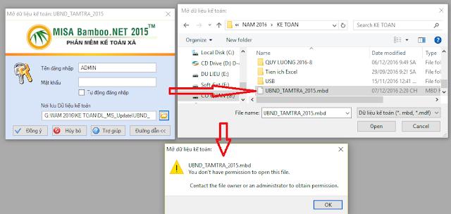 Mẹo sửa một số lõi thường gặp trên phần mềm kế toán Misa