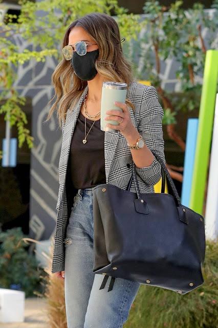Jessica Alba – Pictured at the Honest Headquarters in Playa Vista