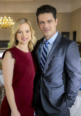 Cindy Busby with her co-star