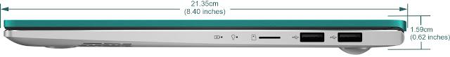 ukuran ASUS VivoBook S14 S433