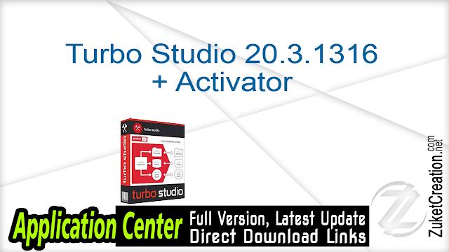Turbo Studio 20.3.1316 + Activator