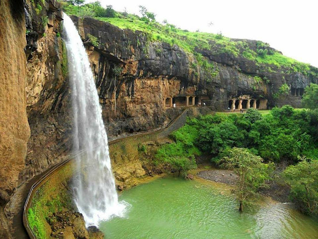 ajanta waterfall