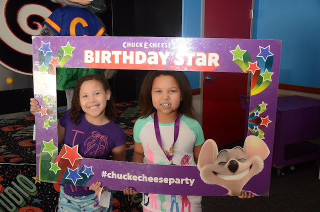 Birthday star #ChuckECheeseParty