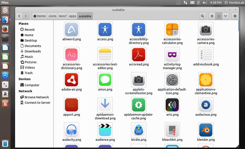 ieOS7 icons for Ubuntu/Linux Mint/other Ubuntu derivatives