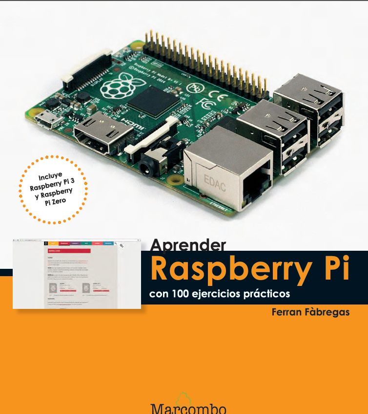 aprender raspberry pi con 100 ejercicios prácticos pdf gratis
