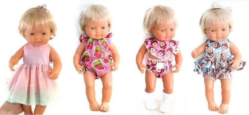 charliebird AU miniland doll clothes