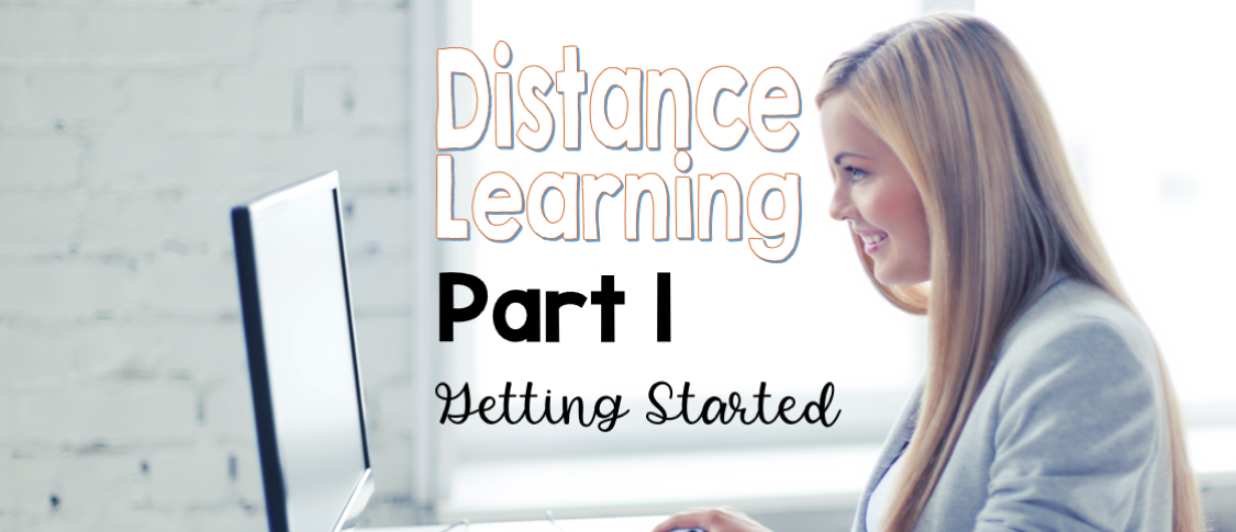 Distance Learning prepare to teach remotely