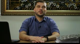 Presidente da Câmara de Cacimba de Dentro, Marcinho Rocha, em vídeo  presta contas de mandato e se despede do legislativo municipal.