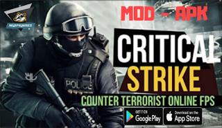 Download Critical Strike CS Mod Apk Terbaru