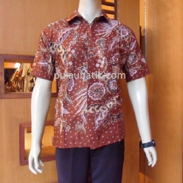Batik Pria Fashion: Model Baju Batik Pria Lengan Panjang Modern Modis Terbaru