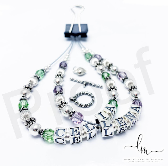 Lena and Celia Birthstone Bracelet with a Twisted Toggle Clasp and a Heart Charm - August, Peridot, June, Alexandrite