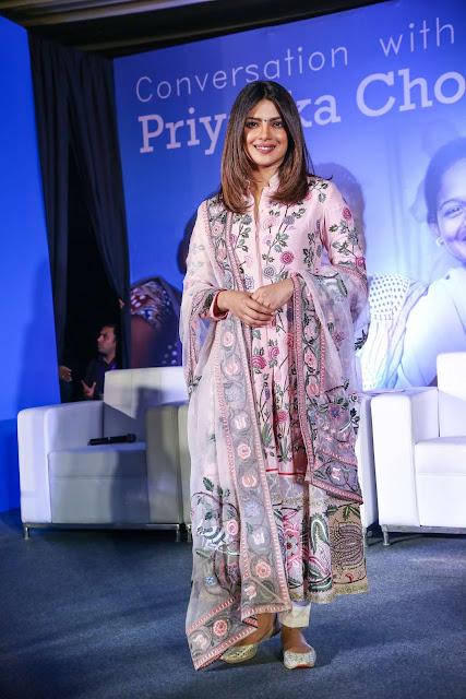 Priyanka Chopra – UNICEF India Press Conference in New Delhi