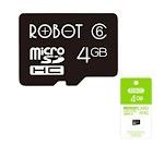 MicroSD Robot 4GB