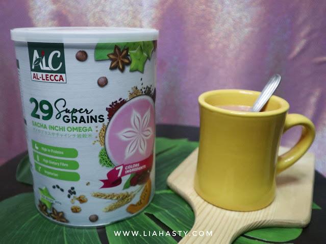 Minuman Kesihatan Super Grains Sacha Inchi Omega Plus