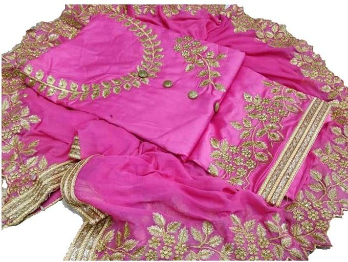 HMP Fashion Cotton Dress Material
