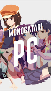 monogatari series wallpaper