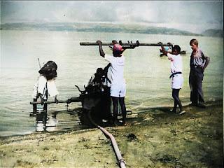 memasok air dari danau toba saat balige kesulitan air