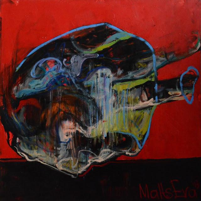 Figurative Expressionist Art by Evgeniya Maltseva