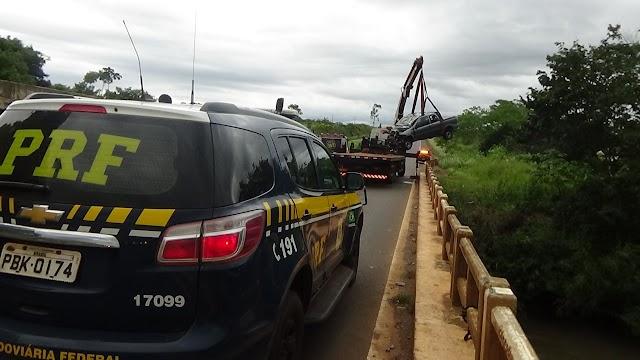 Acidente deixa uma morta e dois feridos na BR-060 entre Rio Verde e Jataí
