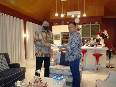 Gubernur Olly Dondokambey Jalin Kerjasama Dengan Garuda Indonesia Percepat Distribusi Perikanan ke Mancanegara