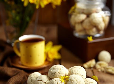 Kruche ciasteczka waniliowe z cytryną i... tymiankiem