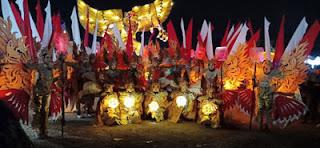 Anggota lengkap Desa Losari Dalam Singosari Lampion Festival 2018
