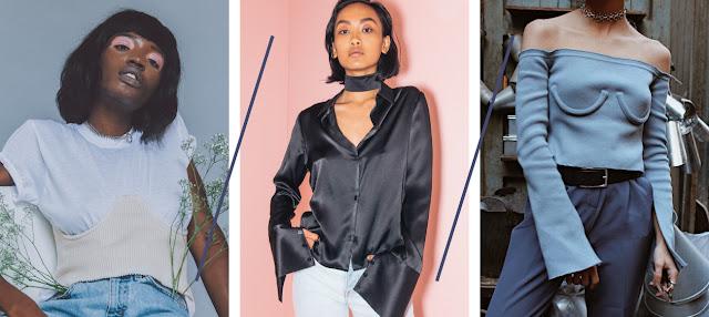 Corset Bustier 2017 Trend Silk Choker Fashion