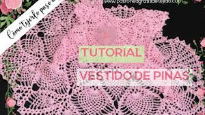 Vestido crochet para niñas | Tutorial en español