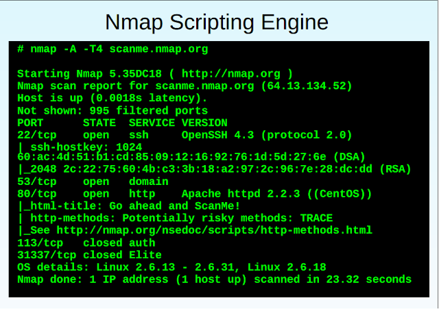 Dominando Nmap Scripting Engine.