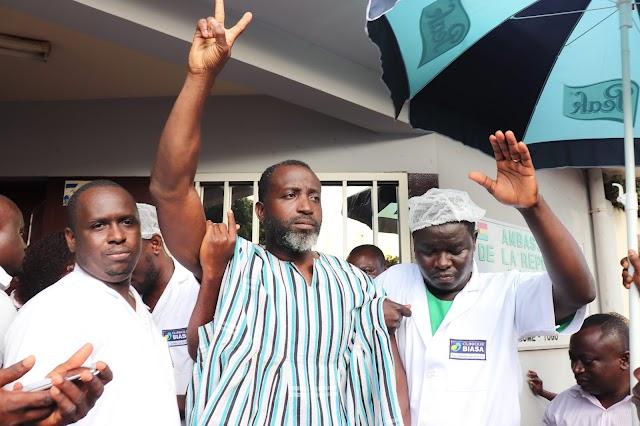 TOGO/ Nicodème HABIA de nouveau empêché d'aller se soigner au Ghana